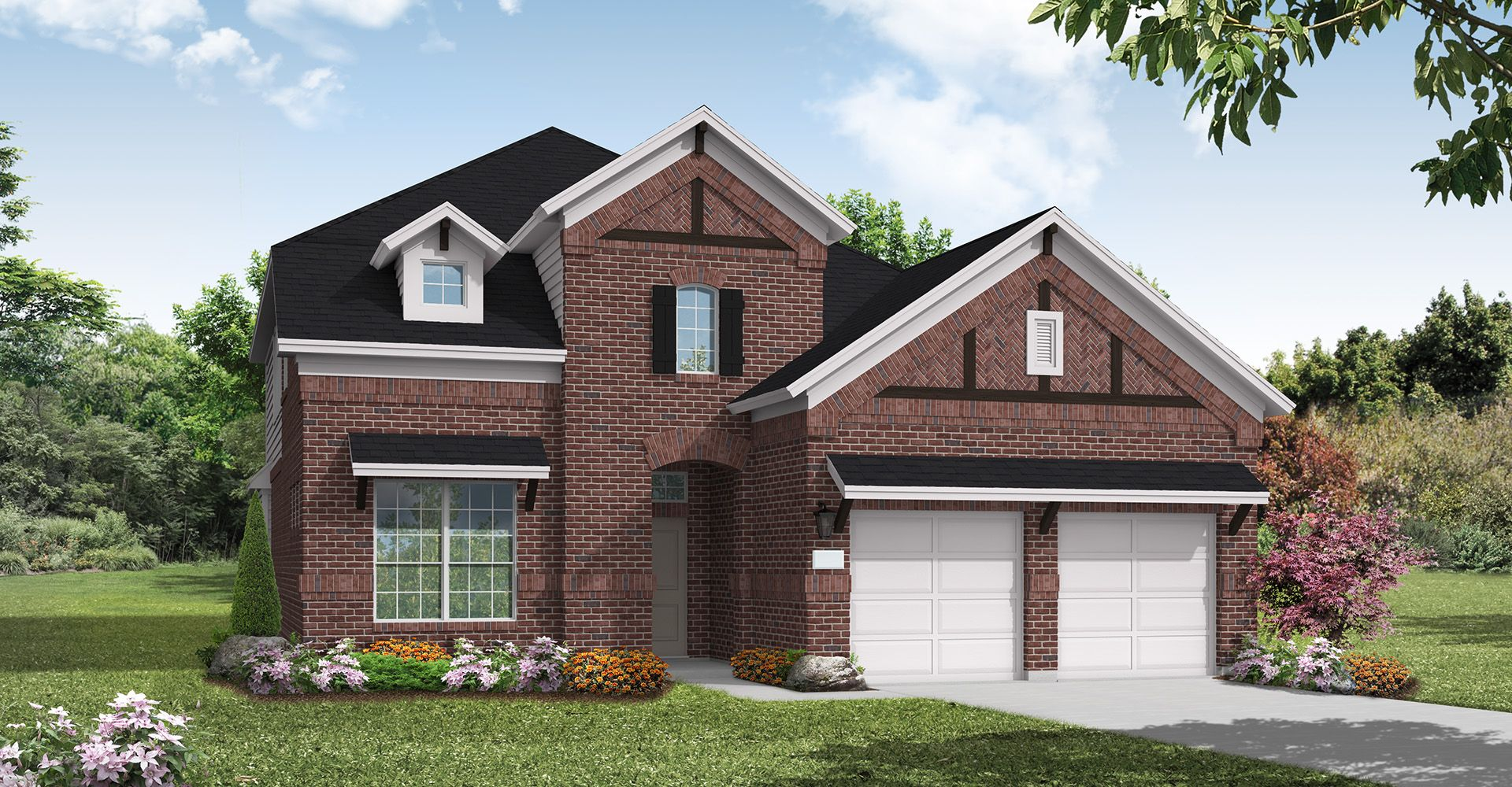 Exterior featured in the Baylor Creek By Coventry Homes in Dallas, TX