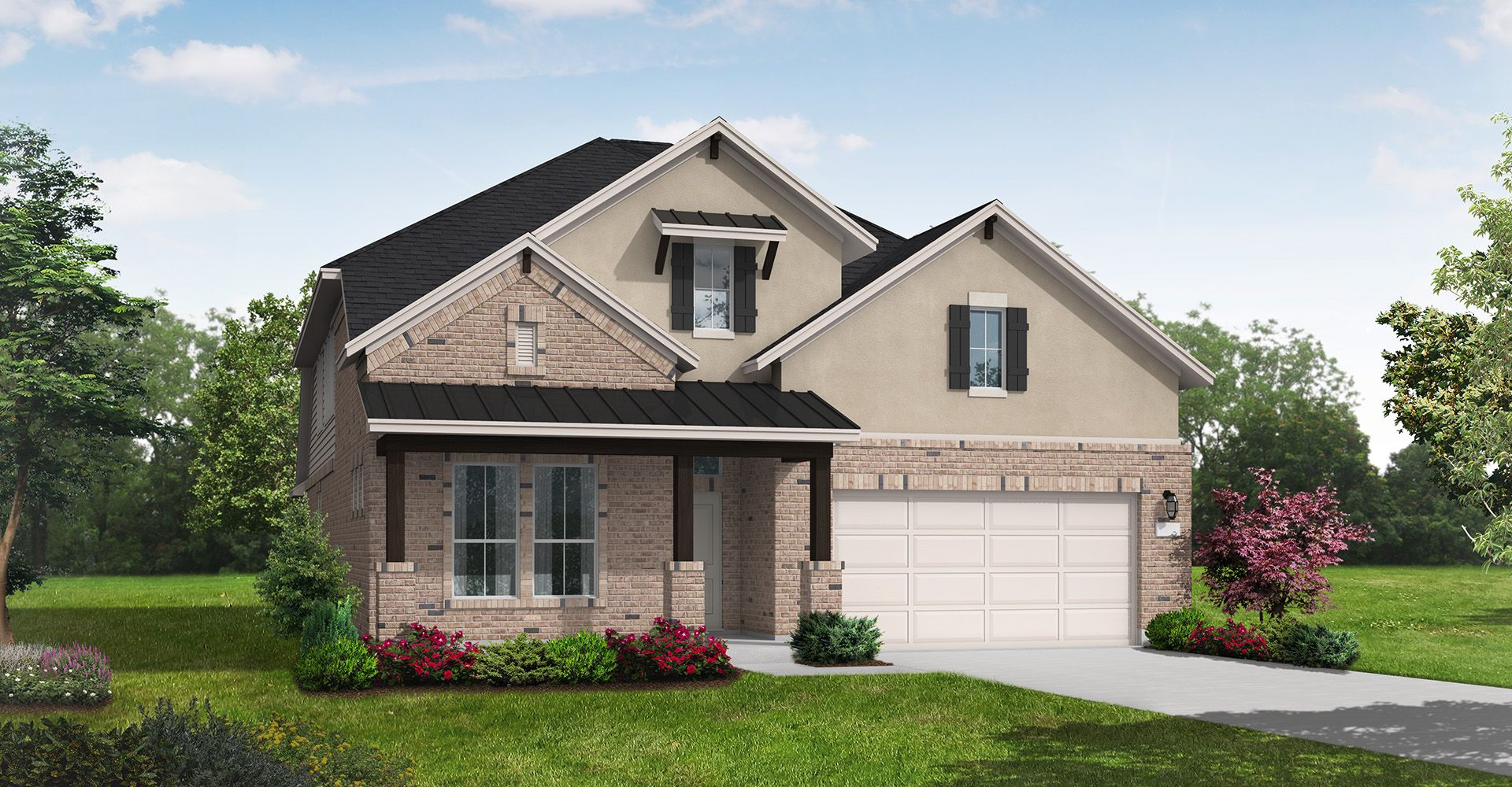 Exterior featured in the Easton By Coventry Homes in Dallas, TX