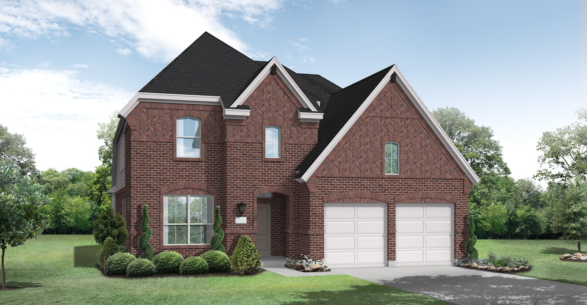 Exterior featured in the Nixon By Coventry Homes in Dallas, TX