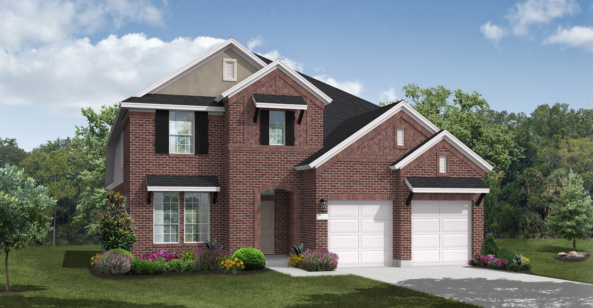 Exterior featured in the Devine By Coventry Homes in Dallas, TX