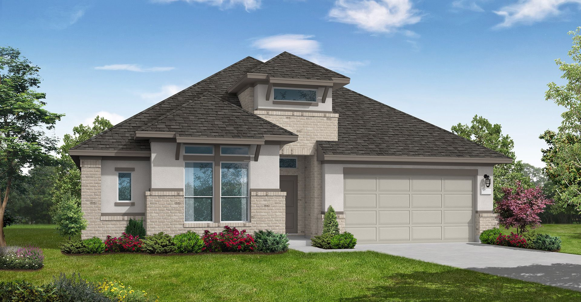 Exterior featured in the Manor By Coventry Homes in Houston, TX