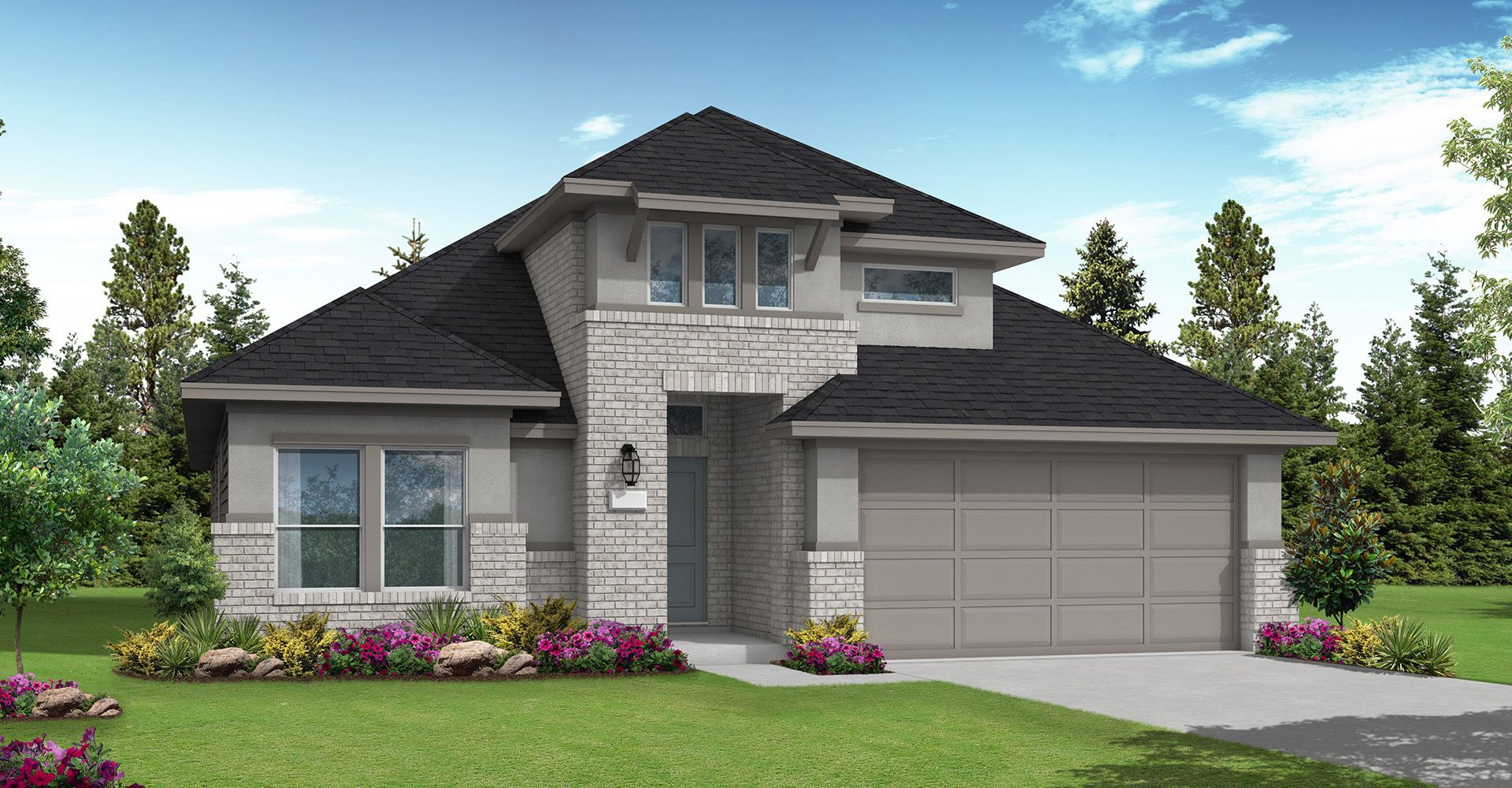 Exterior featured in the Winchester By Coventry Homes in Houston, TX