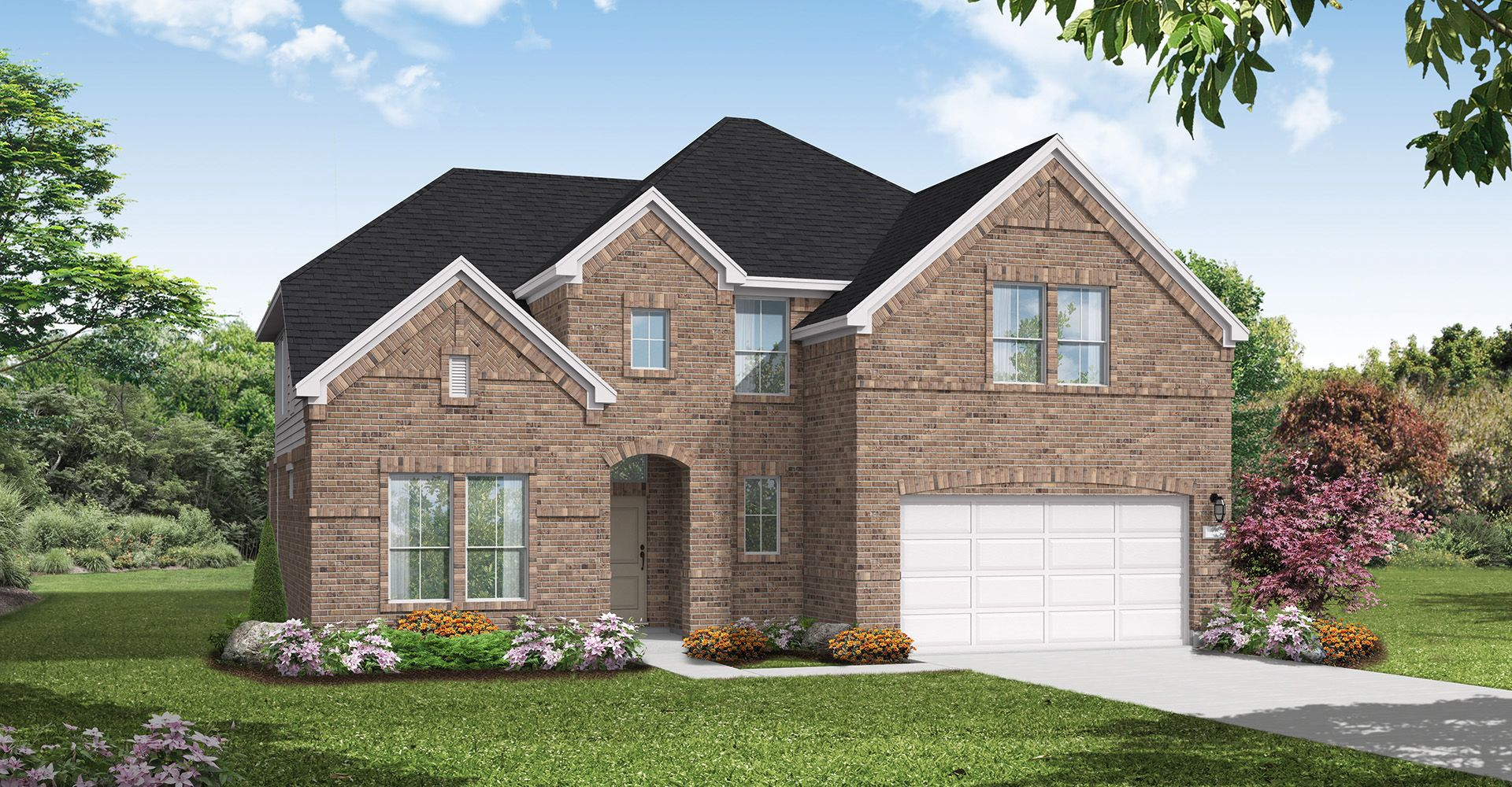Exterior featured in the Waco By Coventry Homes in Houston, TX