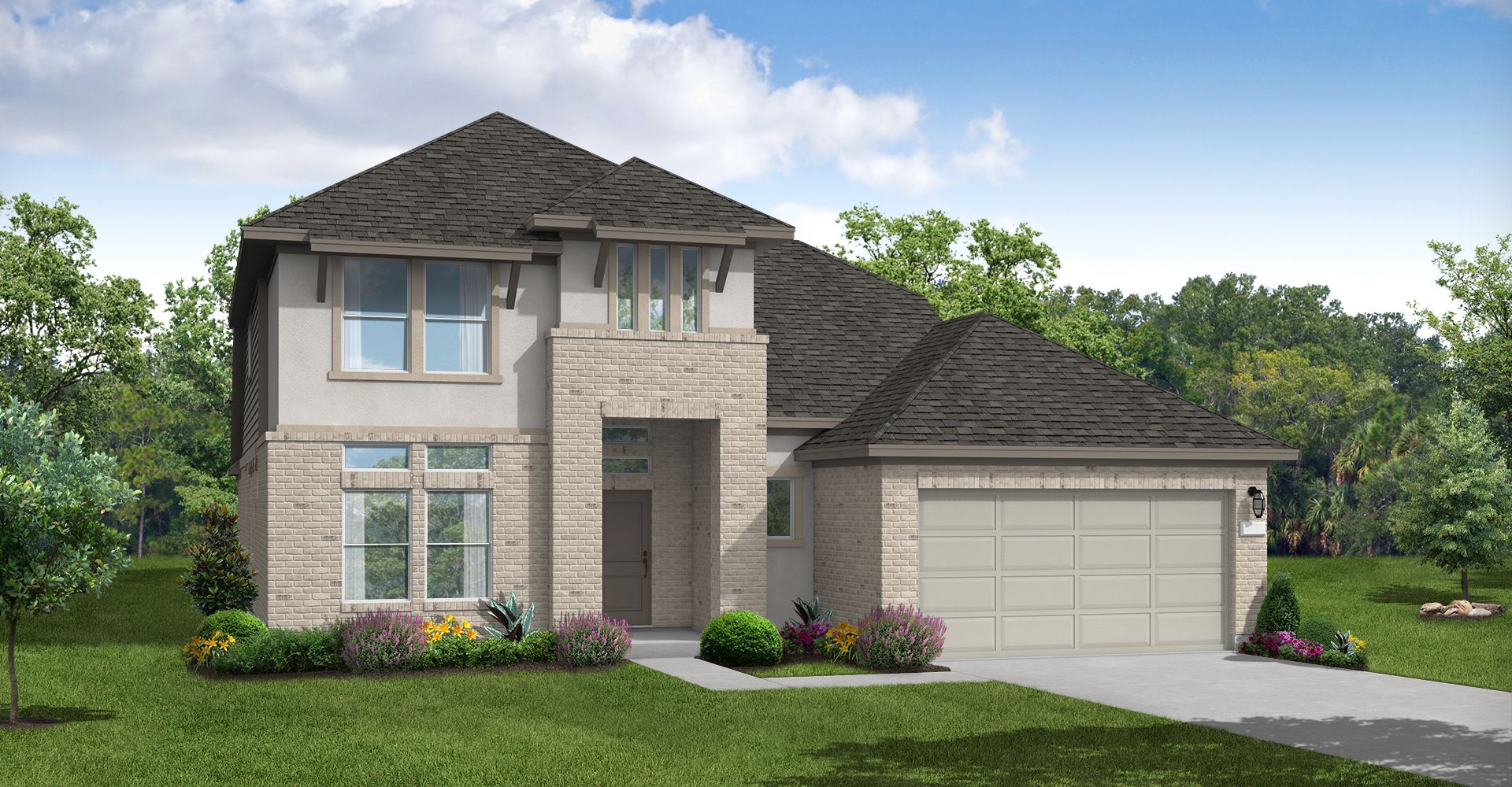 Exterior featured in the Collin By Coventry Homes in Houston, TX