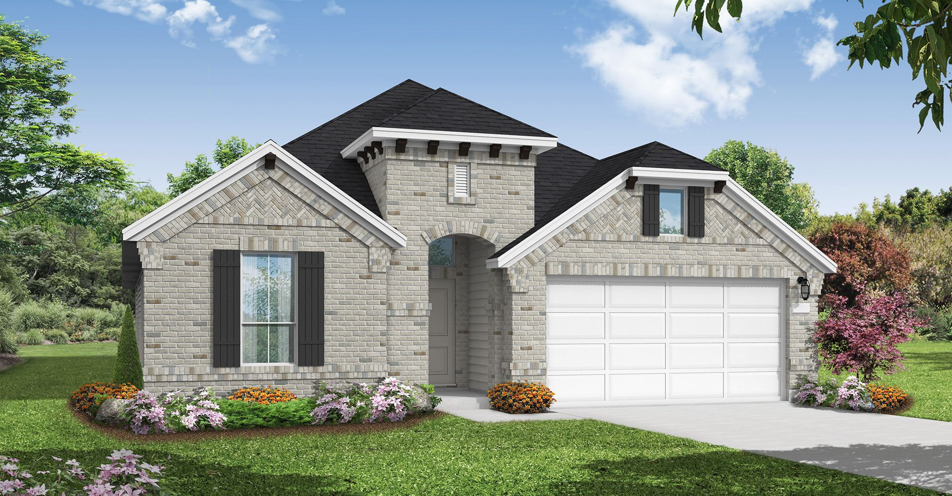 Exterior featured in the Morgan By Coventry Homes in Houston, TX