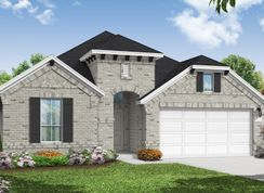 Morgan - The Meadows at Imperial Oaks 50': Conroe, Texas - Coventry Homes