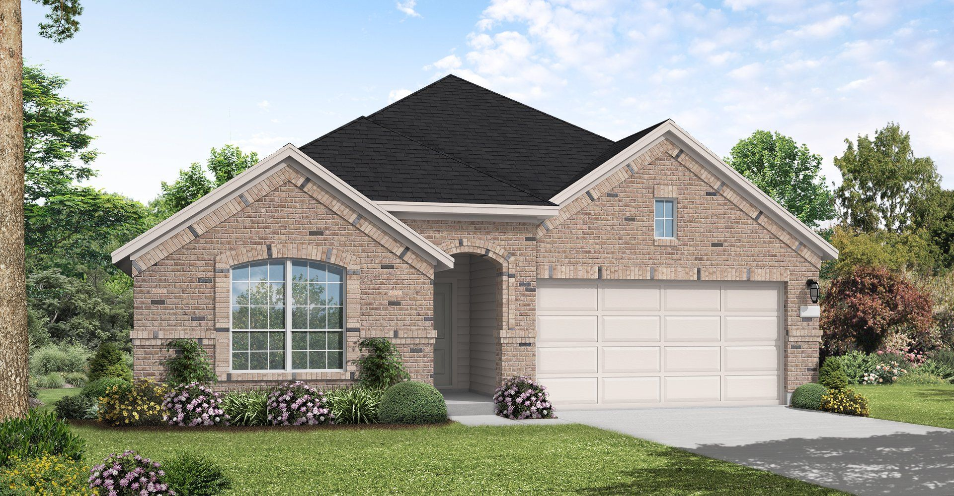 Exterior featured in the Grandview By Coventry Homes in Austin, TX