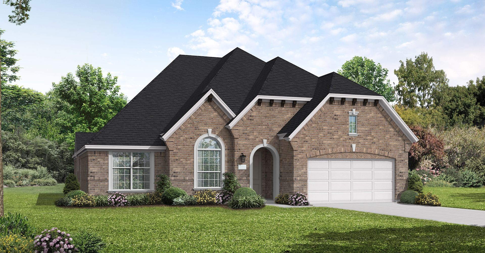 Exterior featured in the Toledo Bend By Coventry Homes in Dallas, TX