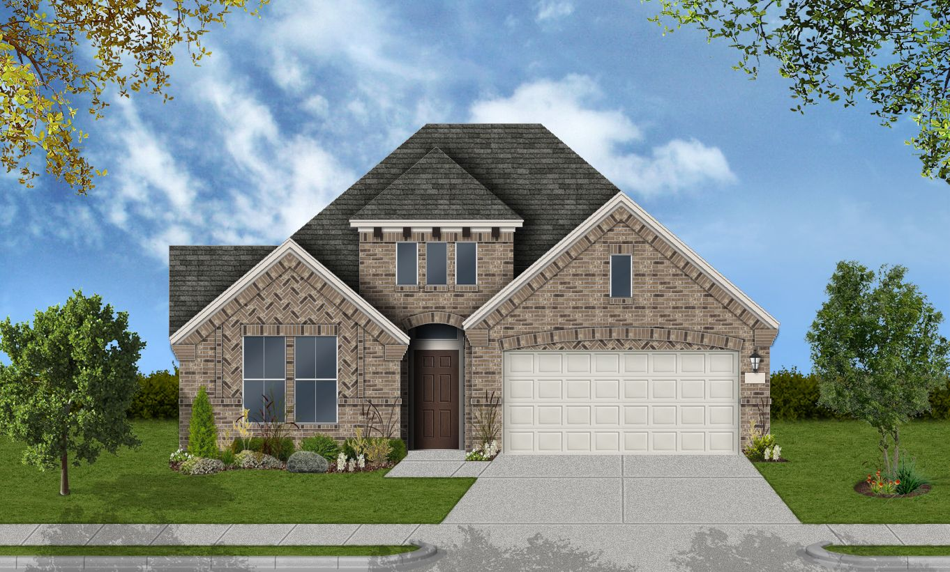 Exterior featured in the Avery By Coventry Homes in Houston, TX