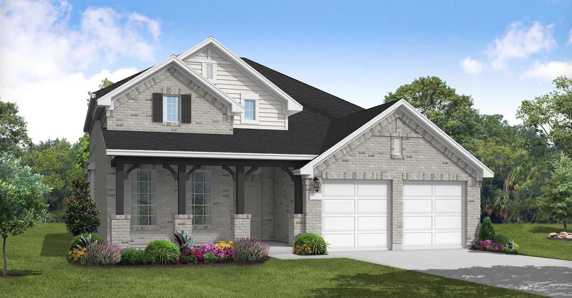 Exterior featured in the Splendora By Coventry Homes in Dallas, TX