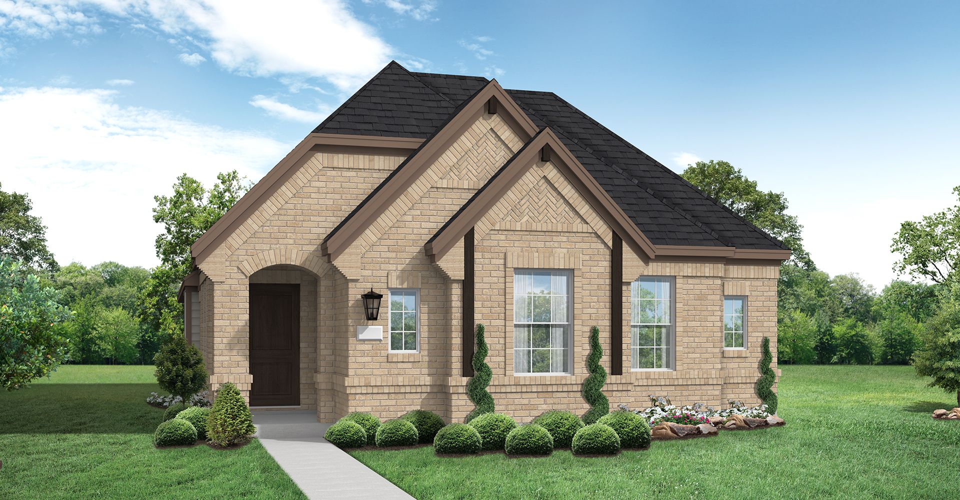 Exterior featured in the Aurora By Coventry Homes in Dallas, TX
