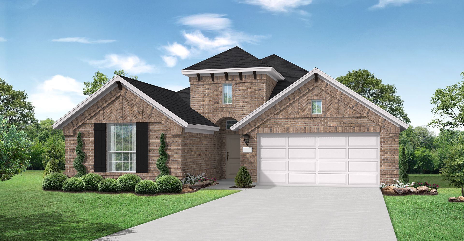 Exterior featured in the Christoval By Coventry Homes in Dallas, TX