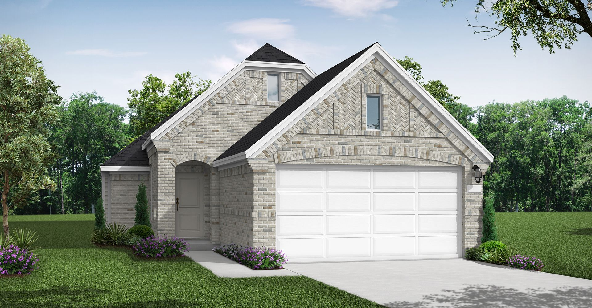 Exterior featured in the Crandall By Coventry Homes in Houston, TX