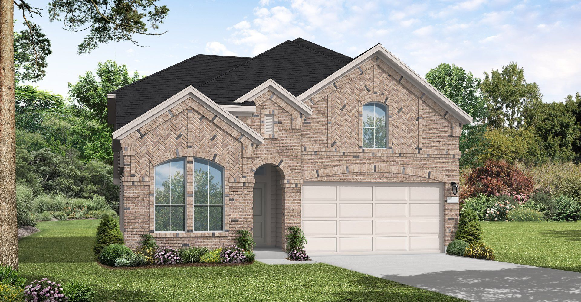 Exterior featured in the Alvin By Coventry Homes in Houston, TX
