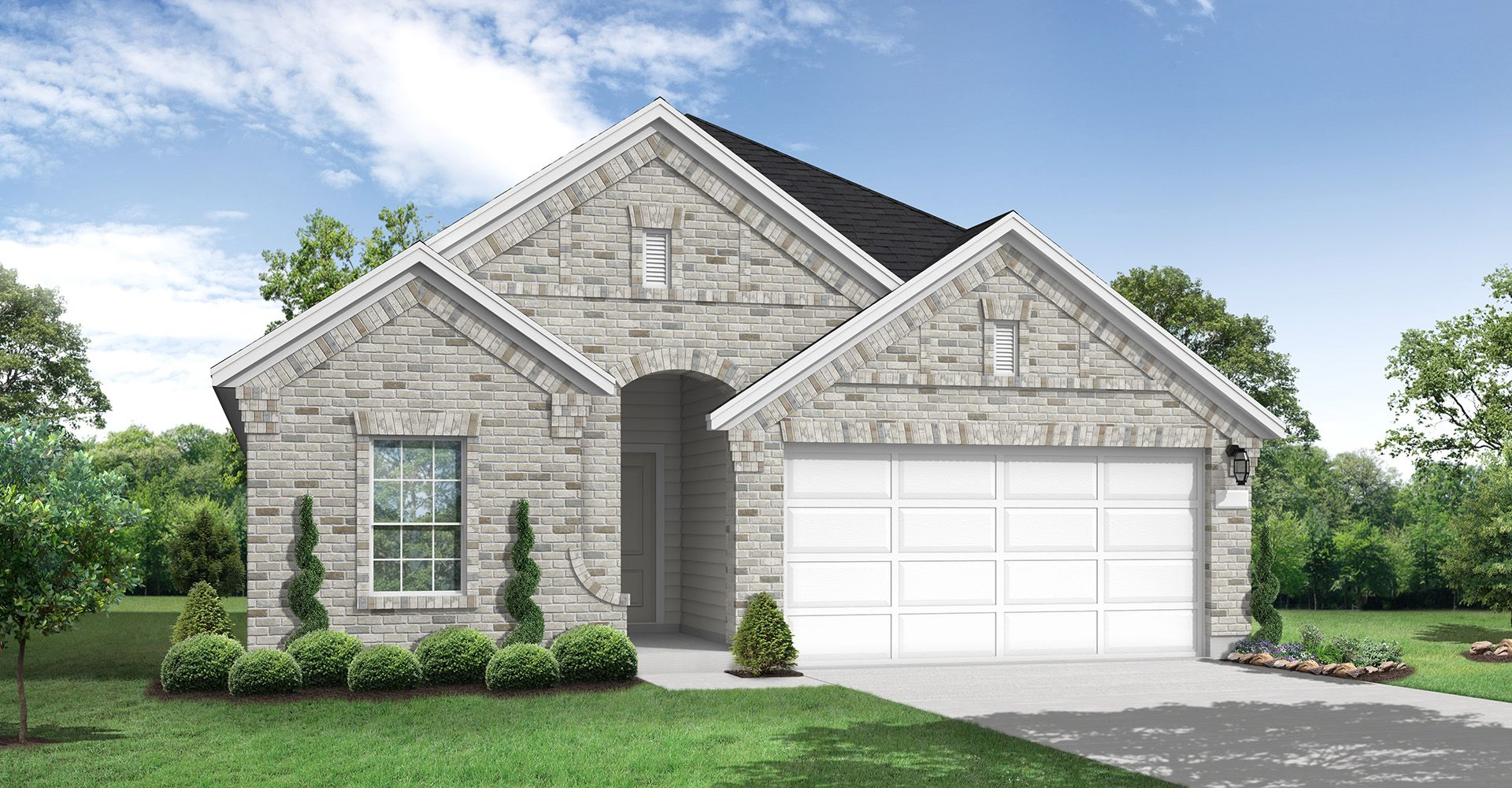 Exterior featured in the Izoro By Coventry Homes in San Antonio, TX