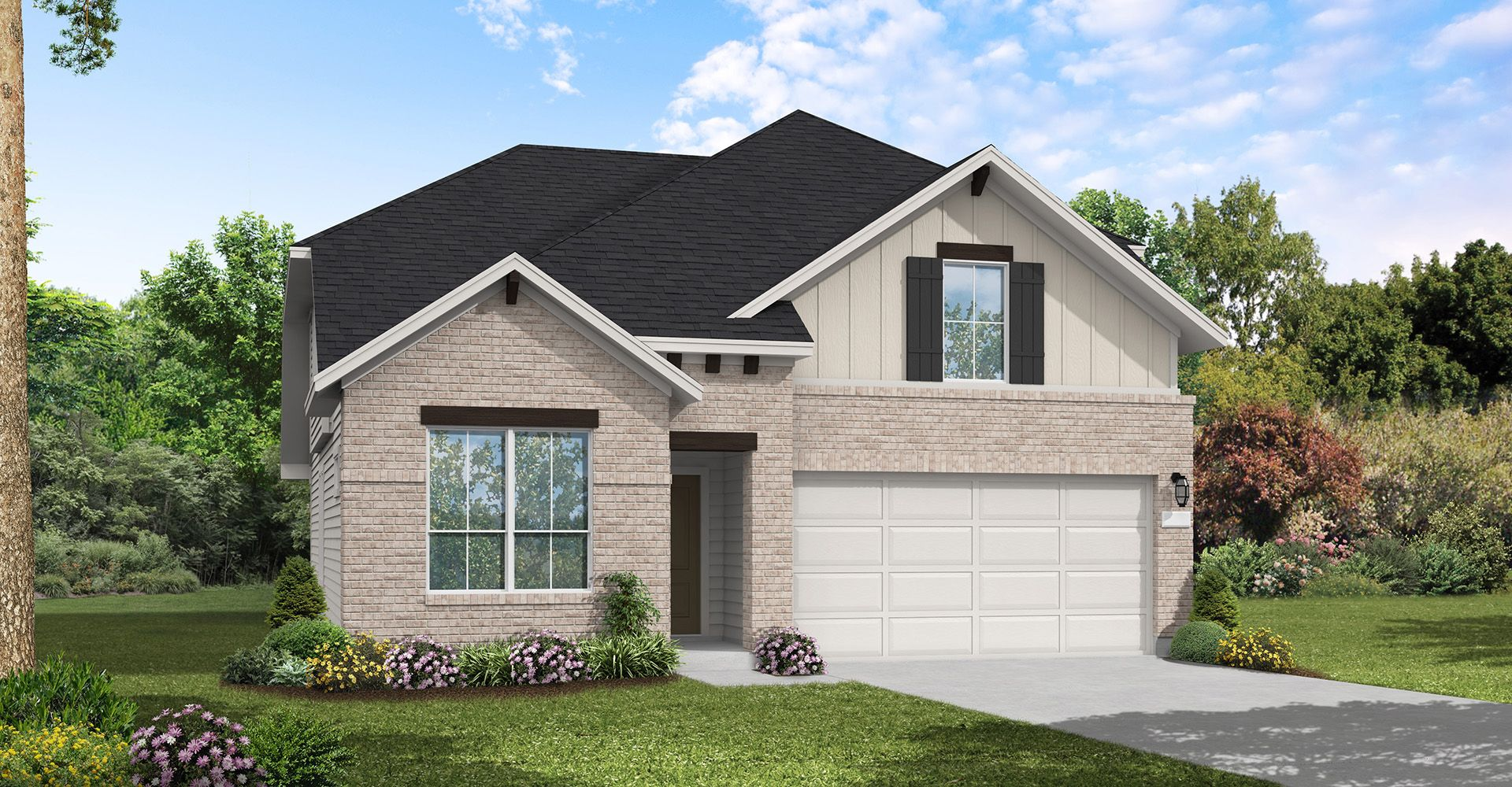Exterior featured in the Lasara By Coventry Homes in San Antonio, TX