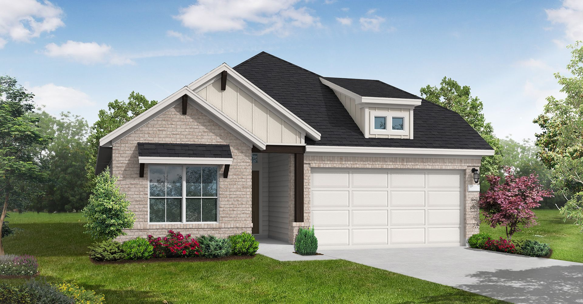 Exterior featured in the Parker By Coventry Homes in San Antonio, TX