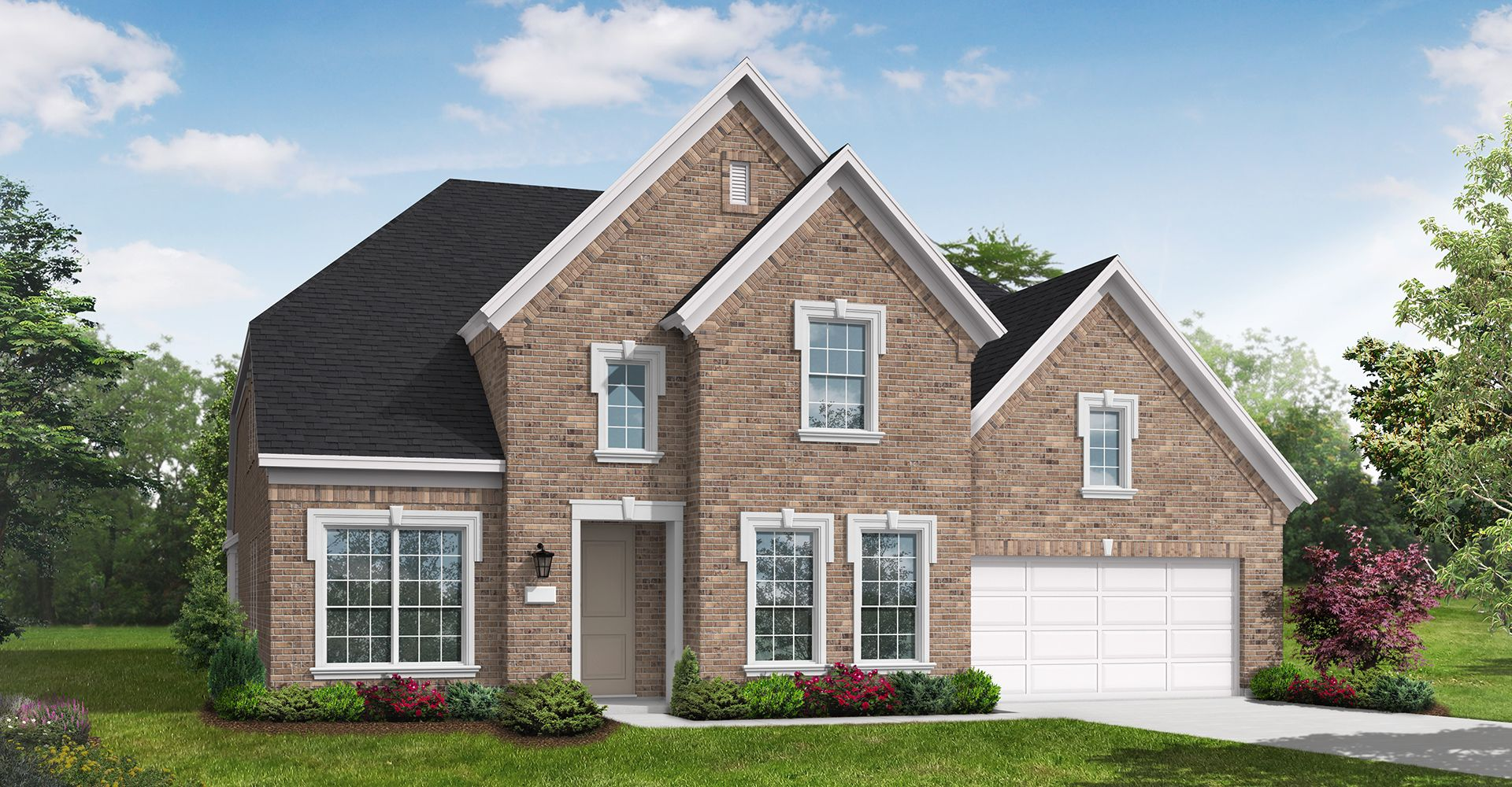 Exterior featured in the Caddo By Coventry Homes in Dallas, TX