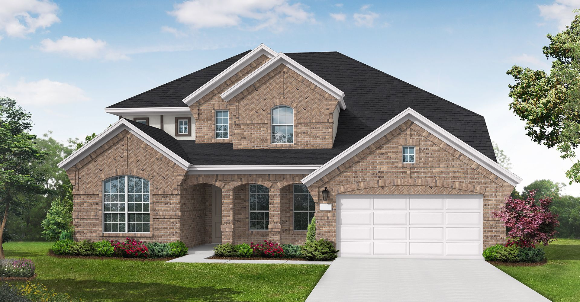 Exterior featured in the Dayton By Coventry Homes in Dallas, TX