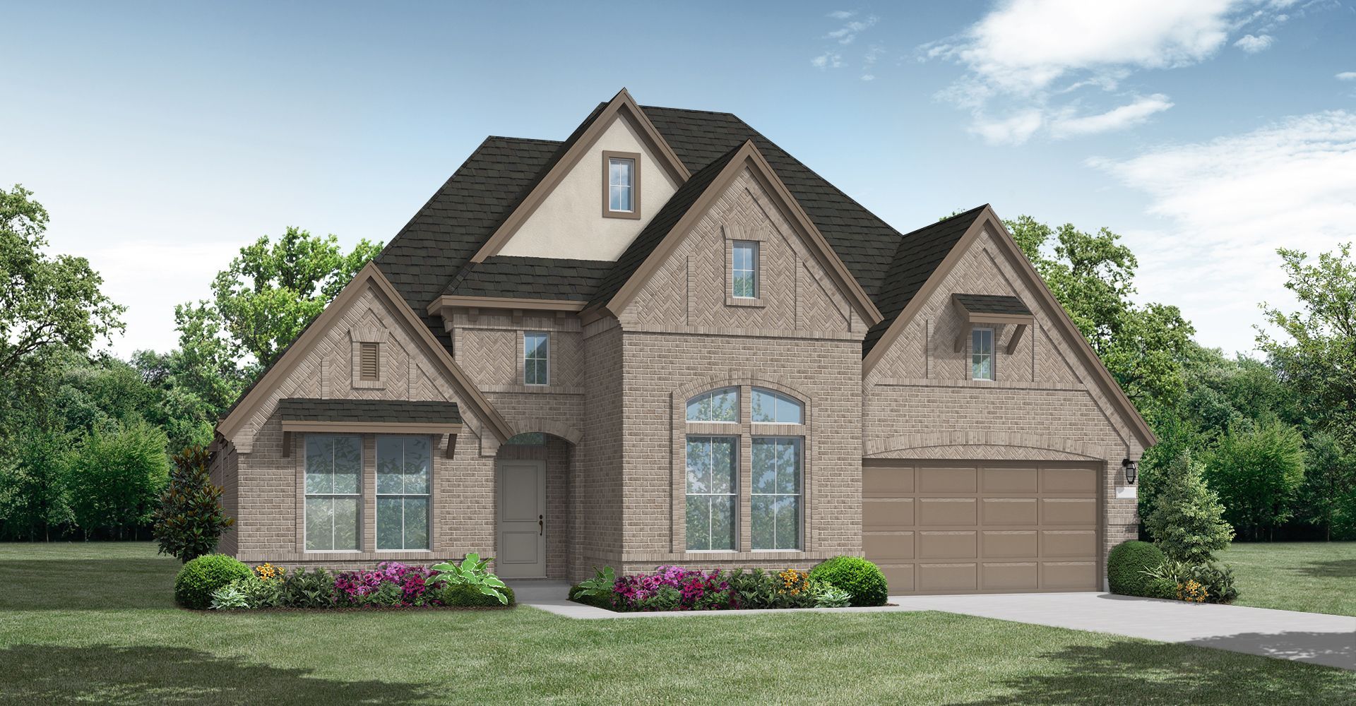 Exterior featured in the Bremond By Coventry Homes in Dallas, TX