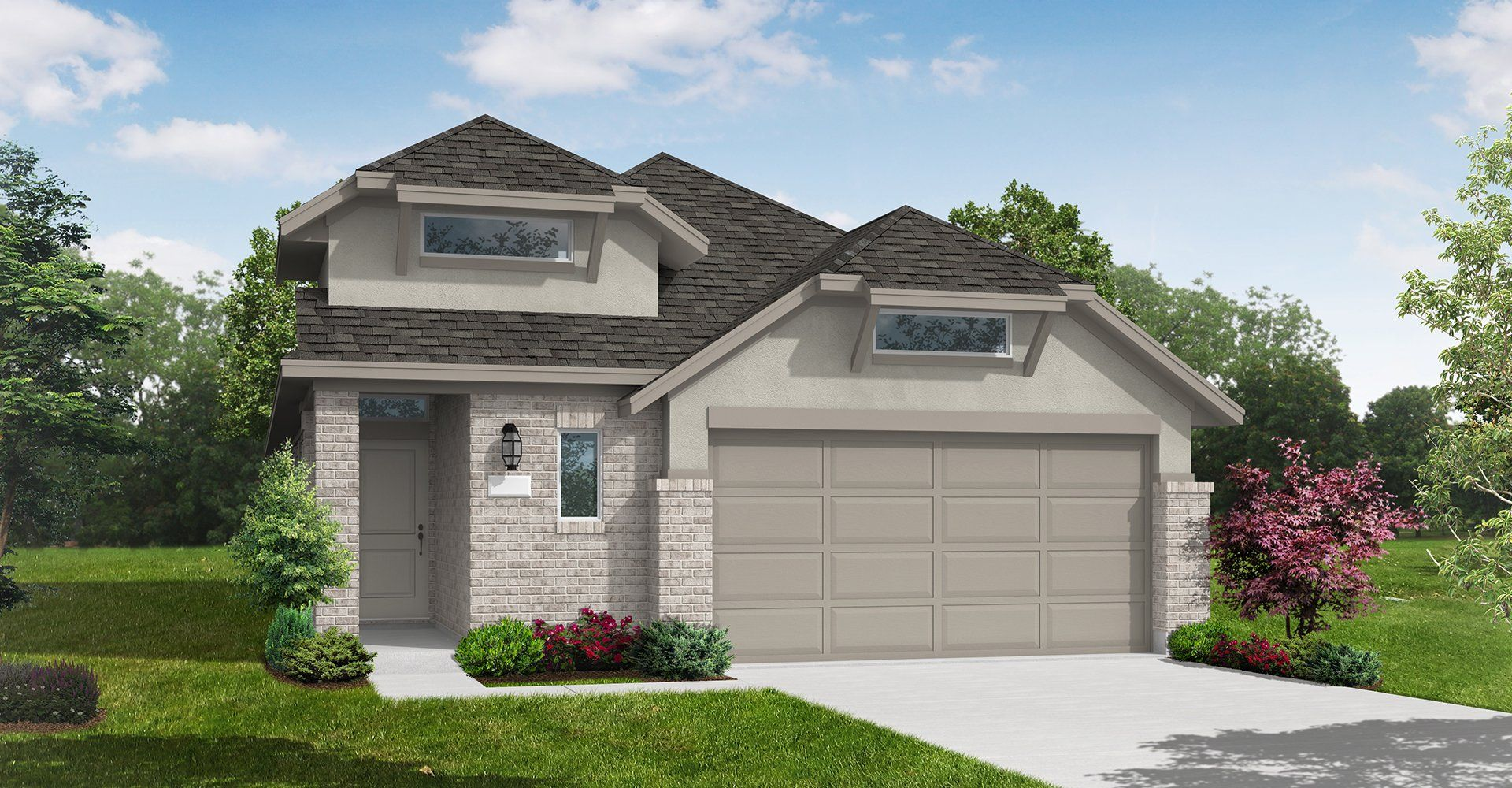 Exterior featured in the Elgin By Coventry Homes in Houston, TX