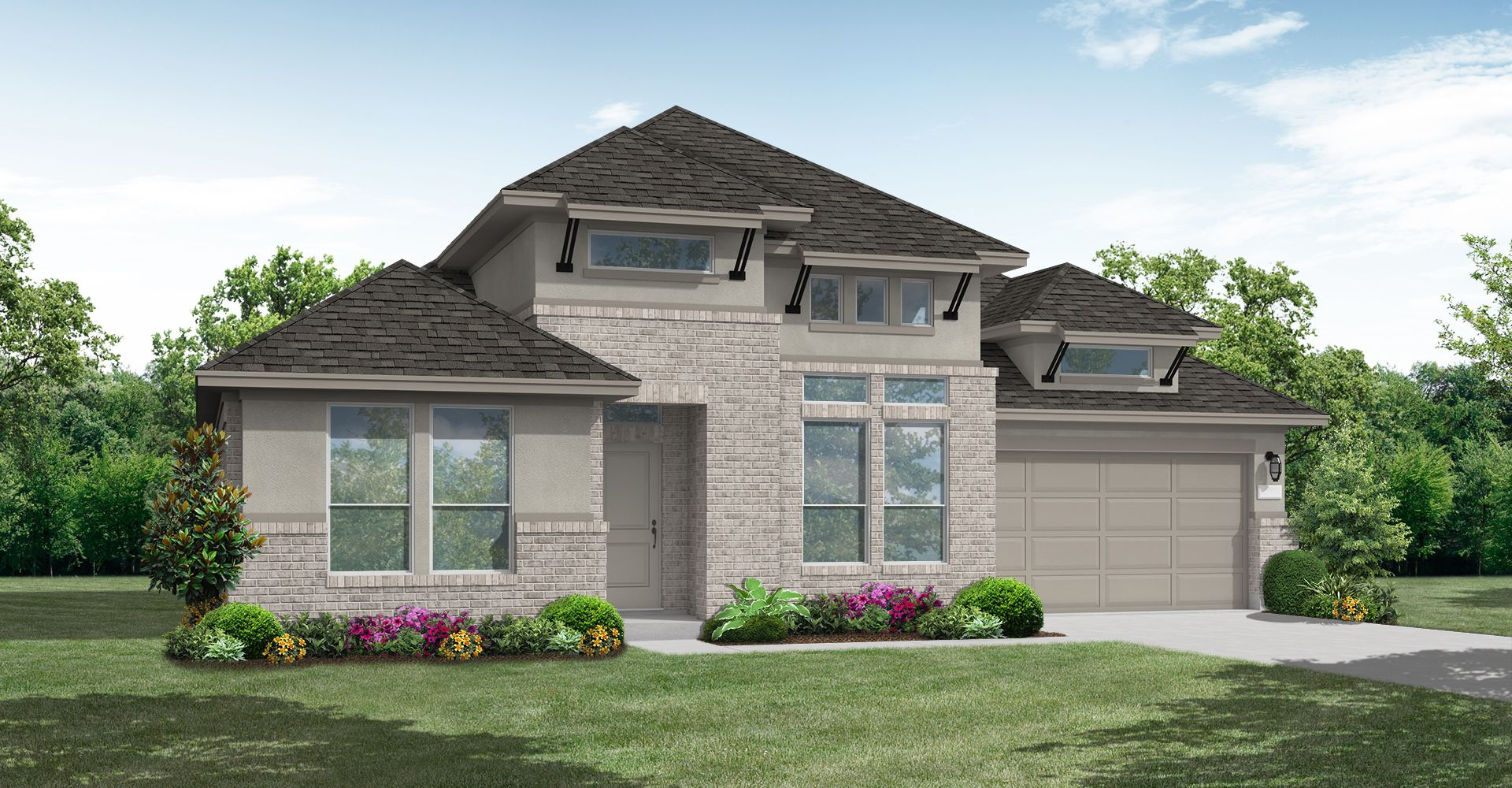 Exterior featured in the Tilden By Coventry Homes in Houston, TX
