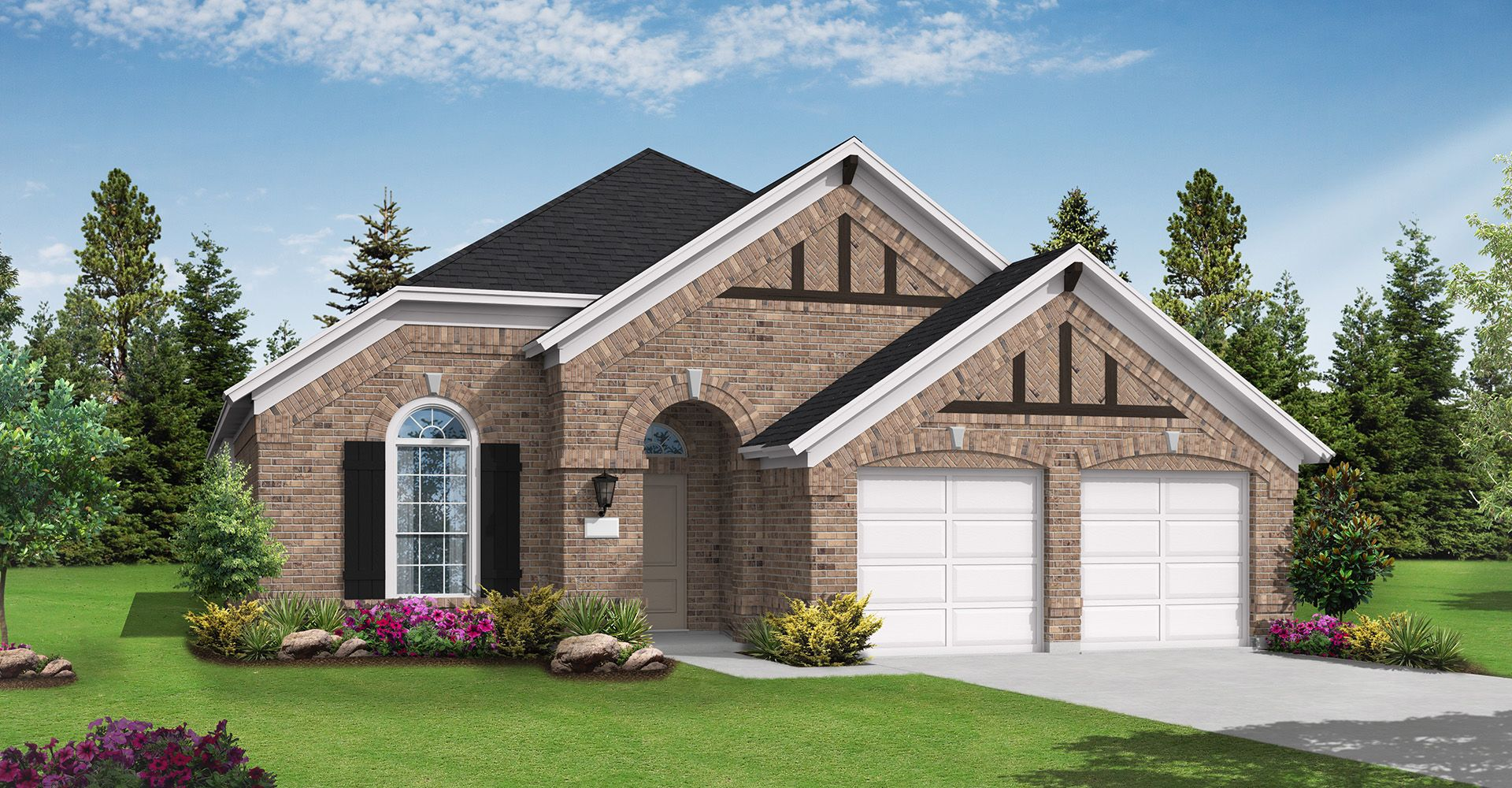 Exterior featured in the Burkburnett By Coventry Homes in Dallas, TX
