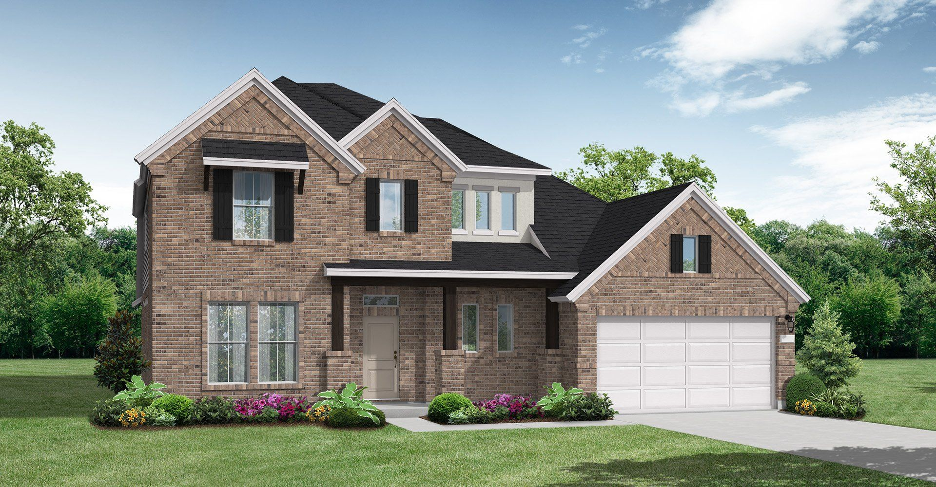 Exterior featured in the Gordon By Coventry Homes in Houston, TX