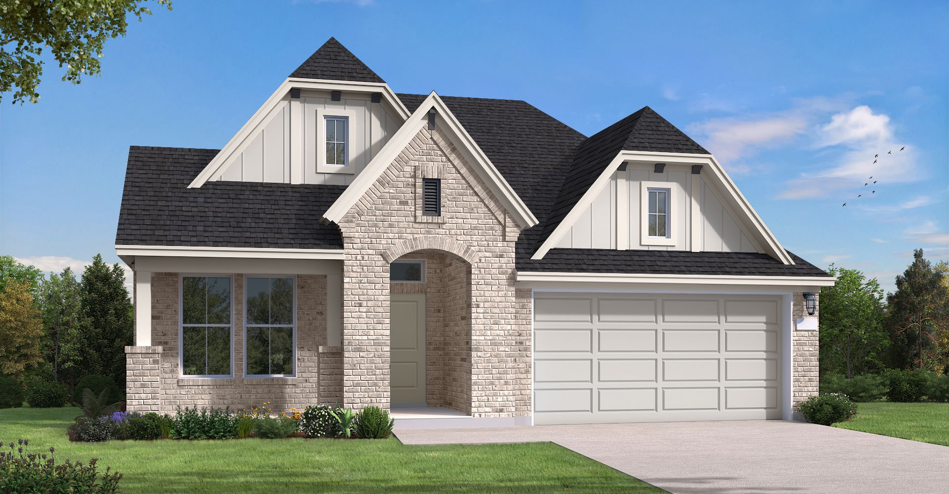 Exterior featured in the Wimberley By Coventry Homes in Houston, TX