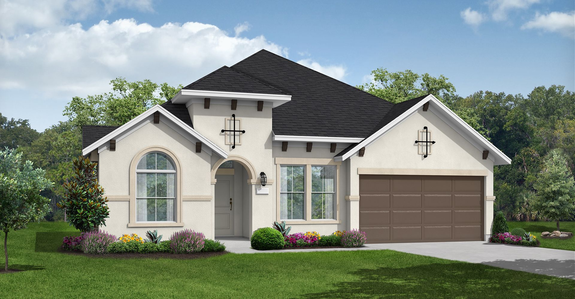 Exterior featured in the Anson By Coventry Homes in Houston, TX
