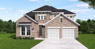 Inwood II - Wolf Ranch Hilltop 51': Georgetown, Texas - Coventry Homes