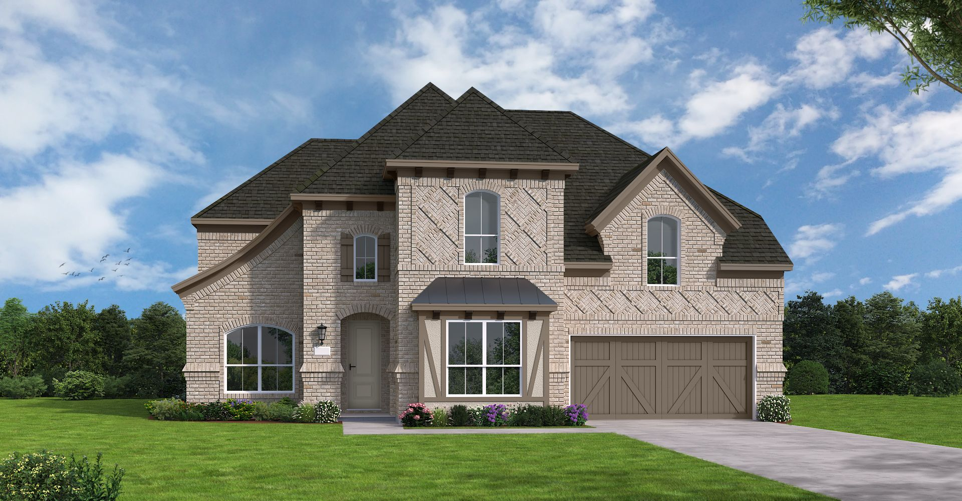 Exterior featured in the Eagle Mountain By Coventry Homes in Dallas, TX