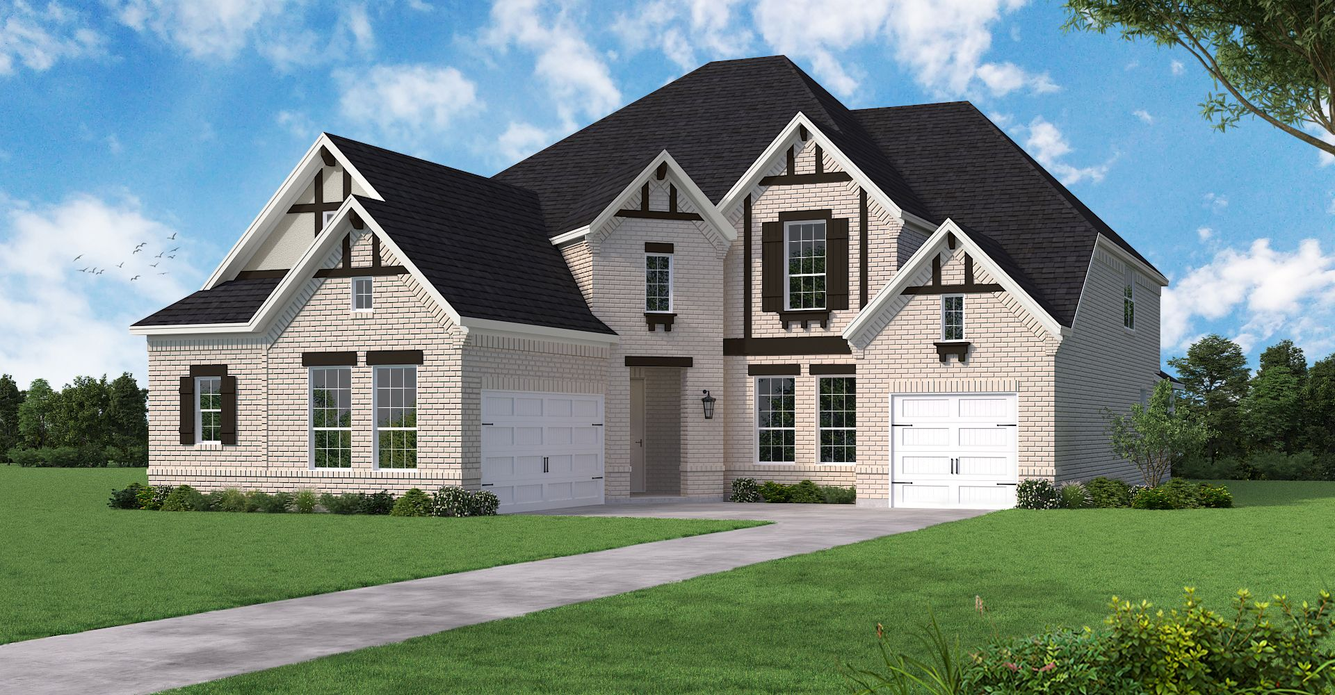 Exterior featured in the Lockhart By Coventry Homes in Dallas, TX