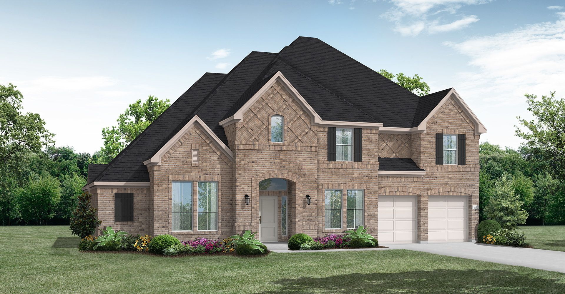Exterior featured in the Wharton IV By Coventry Homes in Houston, TX