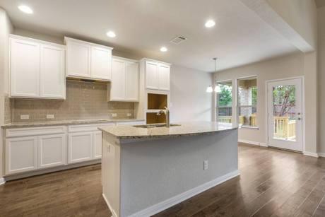 Kitchen-in-Design 2960-at-Kinder Ranch-in-San Antonio
