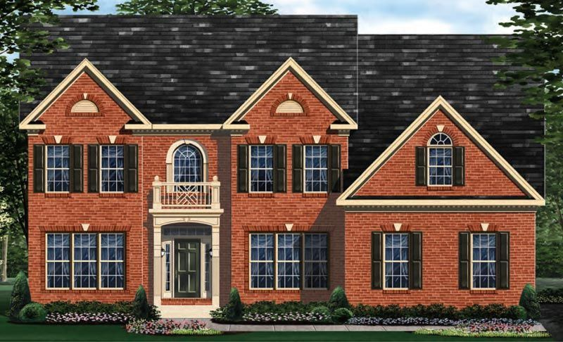 Exterior featured in the Clifton - LOT NOT INCLUDED IN PRICE By Craftmark Homes in Washington, MD