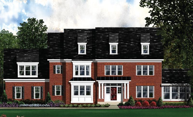Exterior featured in the Kenwood - LOT NOT INCLUDED IN PRICE By Craftmark Homes in Baltimore, MD