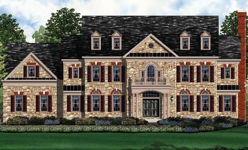 Exterior featured in the Kenwood II - BOYL By Craftmark Homes in Baltimore, MD