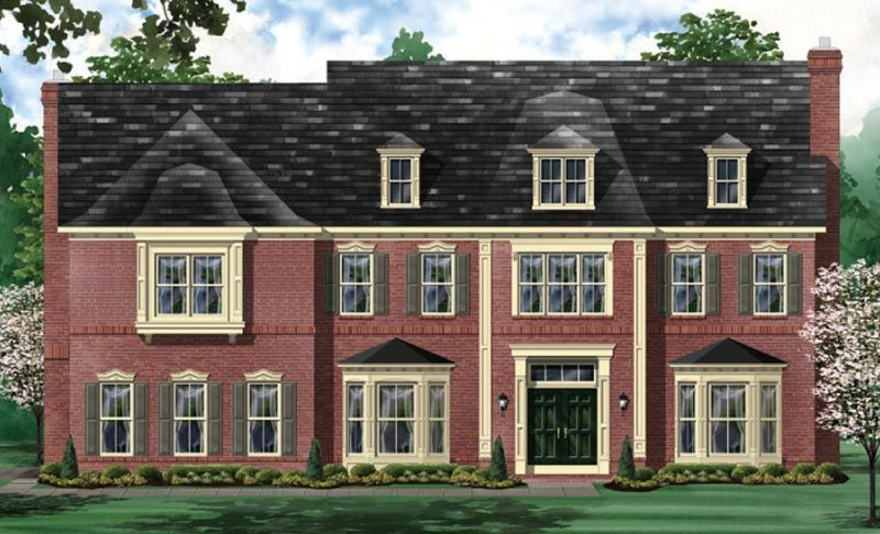 Exterior featured in the Oakmont - BOYL By Craftmark Homes in Baltimore, MD