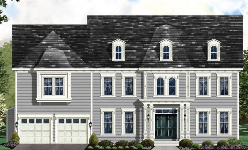 Exterior featured in the Oakton - LOT NOT INCLUDED IN PRICE By Craftmark Homes in Baltimore, MD