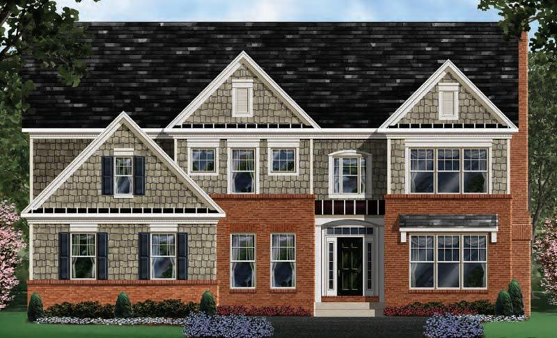 Exterior featured in the Westchester - LOT NOT INCLUDED IN PRICE By Craftmark Homes