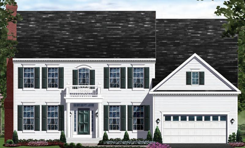 Exterior featured in the Clifton - LOT NOT INCLUDED IN PRICE By Craftmark Homes in Baltimore, MD