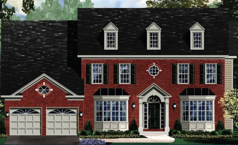 Exterior featured in the Edgemoor - LOT NOT INCLUDED IN PRICE By Craftmark Homes in Baltimore, MD