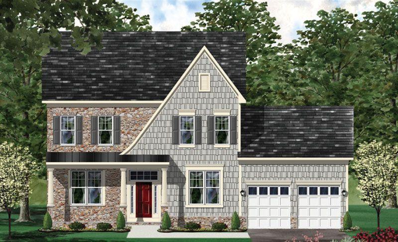 Hamilton - BOYL-Design-at-Craftmark Homes - Custom Build on Your Lot (Leesburg)-in-Leesburg