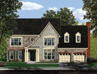 Chevy Chase II - LOT NOT INCLUDED IN PRICE - Craftmark Homes - Custom Build on Your Lot (Fulton): Fulton, Maryland - Craftmark Homes