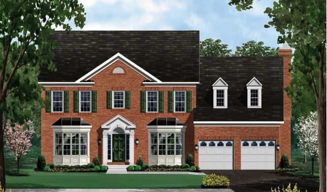 Exterior featured in the Chevy Chase II - LOT NOT INCLUDED IN PRICE By Craftmark Homes