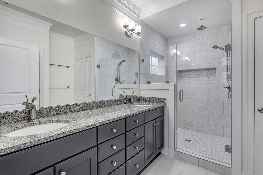 Bathroom featured in The Pavilion By Craig Builders in Charlottesville, VA