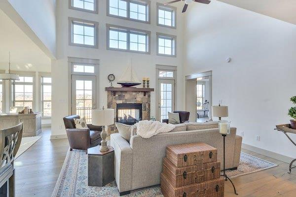 Living Area featured in The Fairway By Craig Builders in Charlottesville, VA