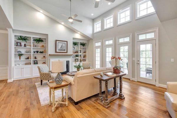 Living Area featured in the Greenside Villa By Craig Builders in Charlottesville, VA