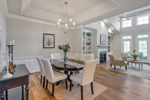 Kitchen featured in the Greenside Villa By Craig Builders in Charlottesville, VA